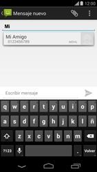 Envía fotos, videos y audio por mensaje de texto - Motorola Moto G - Passo 5