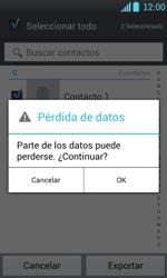 ¿Tu equipo puede copiar contactos a la SIM card? - LG Optimus L7 - Passo 9