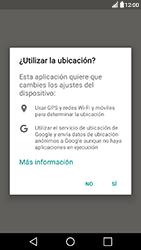 Uso de la navegación GPS - LG X Power - Passo 5