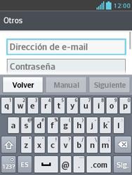 Configura tu correo electrónico - LG Optimus L3 II - Passo 7