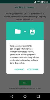 Configuración de Whatsapp - LG Q6 - Passo 5