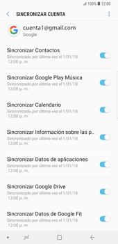 Desactivar la sincronización automática - Samsung Galaxy S9 Plus - Passo 8