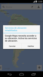 Uso de la navegación GPS - Motorola Moto G - Passo 6