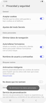 Limpieza de explorador - Samsung Galaxy A80 - Passo 12