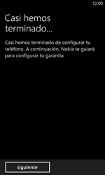 Activa el equipo - Nokia Lumia 920 - Passo 18