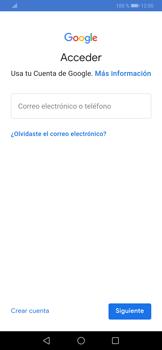 Crea una cuenta - Huawei P30 - Passo 3