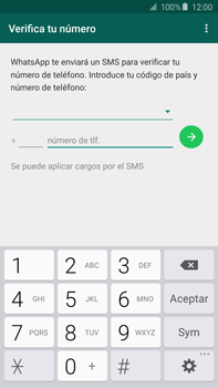 Configuración de Whatsapp - Samsung Galaxy Note 5 - N920 - Passo 6