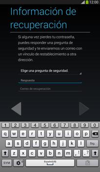 Crea una cuenta - Samsung Galaxy Tab 3 7.0 - Passo 11