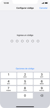 Activa o desactiva el uso del código de seguridad - Apple iPhone XR - Passo 4