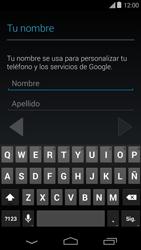 Crea una cuenta - Motorola Moto E (1st Gen) (Kitkat) - Passo 4