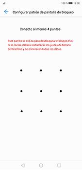 Desbloqueo del equipo por medio del patrón - Huawei P20 Pro - Passo 7