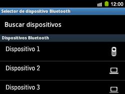 Transferir fotos vía Bluetooth - Samsung Galaxy Y Pro GT - B5510 - Passo 10