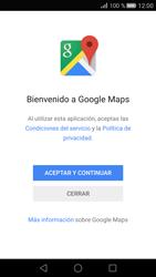 Uso de la navegación GPS - Huawei P8 - Passo 4
