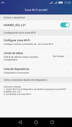 Configura el hotspot móvil - Huawei Y6 - Passo 10