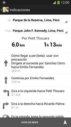 Uso de la navegación GPS - Samsung Galaxy S4  GT - I9500 - Passo 20