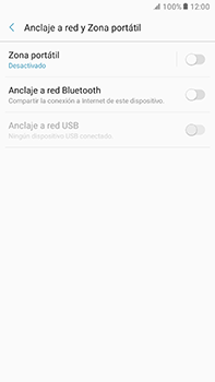 Comparte la conexión de datos con una PC - Samsung Galaxy A7 2017 - A720 - Passo 6