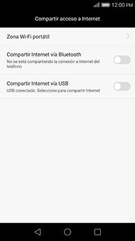 Comparte la conexión de datos con una PC - Huawei G8 Rio - Passo 6