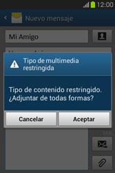 Envía fotos, videos y audio por mensaje de texto - Samsung Galaxy Fame GT - S6810 - Passo 18