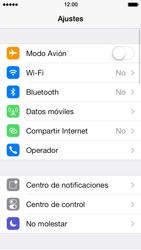 Configura el hotspot móvil - Apple iPhone 5s - Passo 3