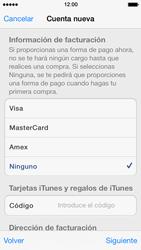 Crea una cuenta - Apple iPhone 5s - Passo 17