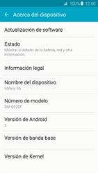 Actualiza el software del equipo - Samsung Galaxy S6 - G920 - Passo 6