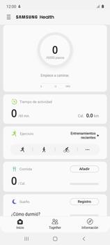 Cómo funciona el Samsung Health - Samsung Galaxy A51 - Passo 16