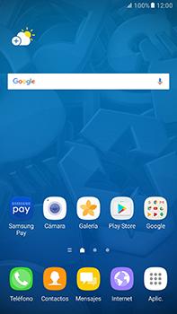 Cómo insertar la SIM card - Samsung Galaxy A7 2017 - A720 - Passo 1