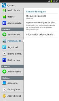 Desbloqueo del equipo por medio del patrón - Samsung Galaxy Tab 3 7.0 - Passo 5
