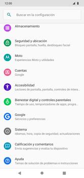 Realiza una copia de seguridad con tu cuenta - Motorola Moto G8 Play (Single SIM) - Passo 4