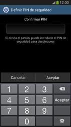Desbloqueo del equipo por medio del patrón - Samsung Galaxy Zoom S4 - C105 - Passo 16