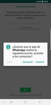 Configuración de Whatsapp - Samsung Galaxy S9 Plus - Passo 7