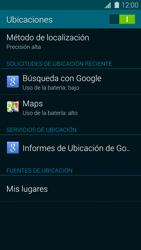 Uso de la navegación GPS - Samsung Galaxy S5 - G900F - Passo 19