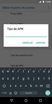 Configura el Internet - Motorola Moto G6 Plus - Passo 14