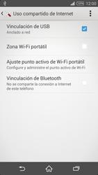 Comparte la conexión de datos con una PC - Sony Xperia Z2 D6503 - Passo 9