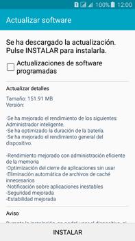 Actualiza el software del equipo - Samsung Galaxy J7 - J700 - Passo 8