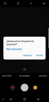 Opciones de la cámara - Samsung Galaxy Note 8 - Passo 6