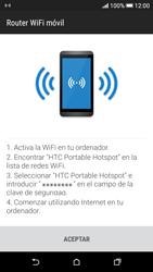 Configura el hotspot móvil - HTC Desire 626s - Passo 10