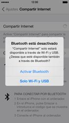 Configura el hotspot móvil - Apple iPhone 5s - Passo 7