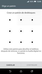 Desbloqueo del equipo por medio del patrón - HTC One A9 - Passo 7