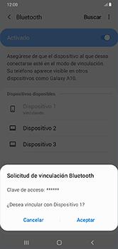 Conecta con otro dispositivo Bluetooth - Samsung Galaxy A10 - Passo 8
