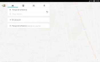 Uso de la navegación GPS - Samsung Galaxy Note Pro - Passo 11