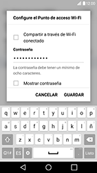 Configura el hotspot móvil - LG G5 SE - Passo 7
