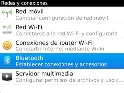 Conecta con otro dispositivo Bluetooth - BlackBerry Bold 9720 - Passo 5