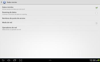Configura el Internet - Samsung Galaxy Note 10-1 - N8000 - Passo 6