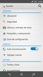 Restaura la configuración de fábrica - Sony Xperia E 4G - Passo 4