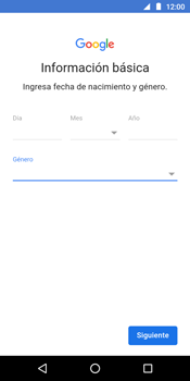 Crea una cuenta - Motorola Moto G6 Play - Passo 8