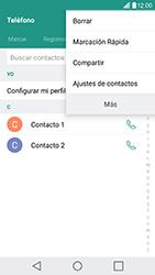 ¿Tu equipo puede copiar contactos a la SIM card? - LG G5 SE - Passo 4