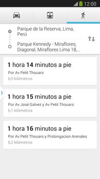 Uso de la navegación GPS - Samsung Galaxy Note Neo III - N7505 - Passo 14