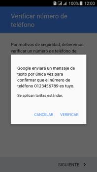 Crea una cuenta - Samsung Galaxy J7 - J700 - Passo 8