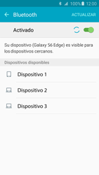 Conecta con otro dispositivo Bluetooth - Samsung Galaxy S6 Edge - G925 - Passo 6